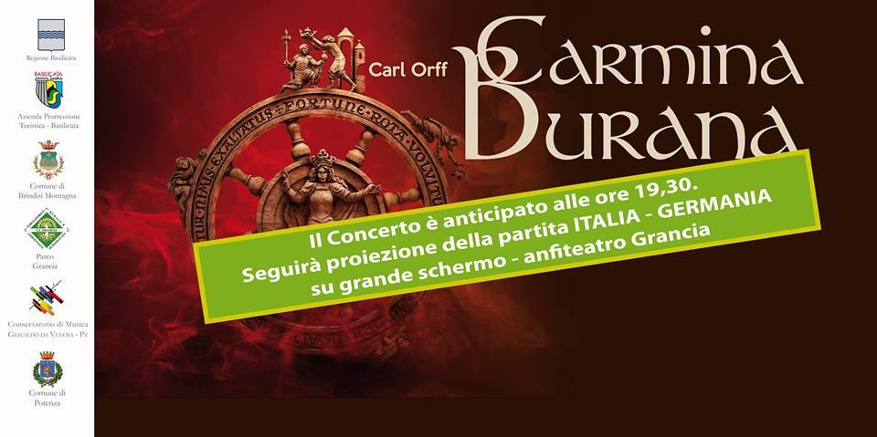 Arcobaleno B&B, potenza, basilicata, italia - Carmina Burana - Evento Parco Grancia