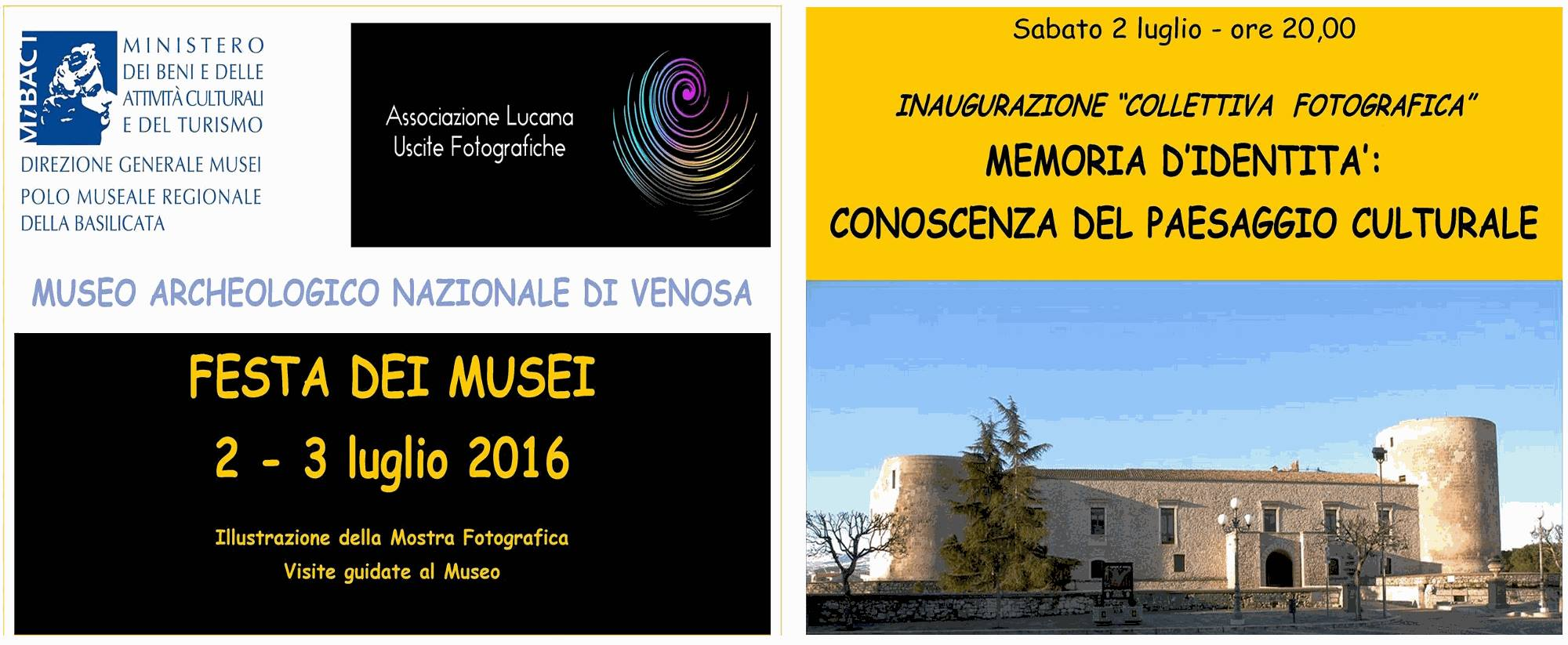 Arcobaleno B&B, potenza, basilicata, italia - Festa dei musei 2016 Venosa