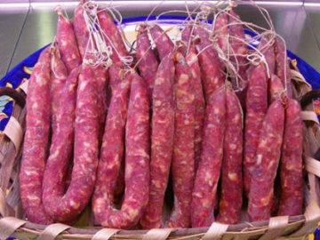 Salsiccia della Basilicata essiccata