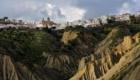 Panorama di Pisticci e dei calanchi